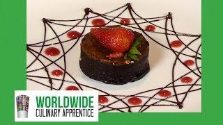 Dessert Plating Decoration Ideas - Dessert Design - Plate Decoration - Chocolate Garnishes-Chocolate