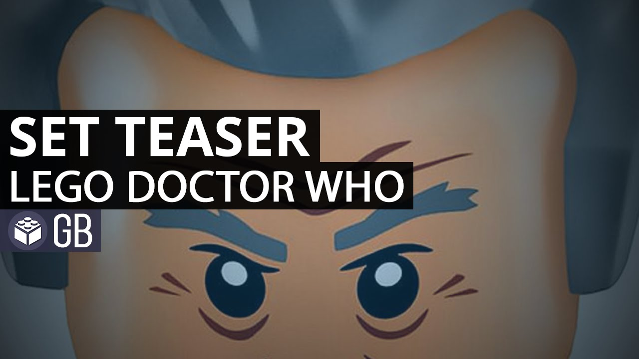 Doctor Who Lego Set Trailer Released