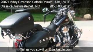 10. 2007 Harley Davidson Softtail Deluxe  - for sale in , NC 276 #VNclassics