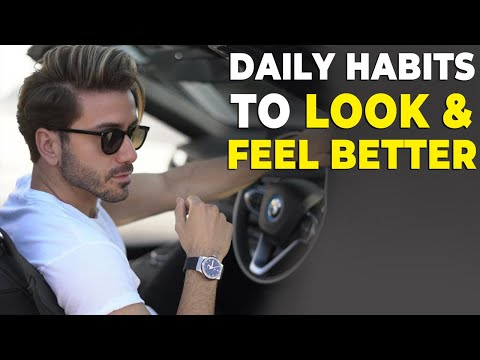 10 Daily Habits That Make You LOOK AND FEEL BETTER | Alex Costa
