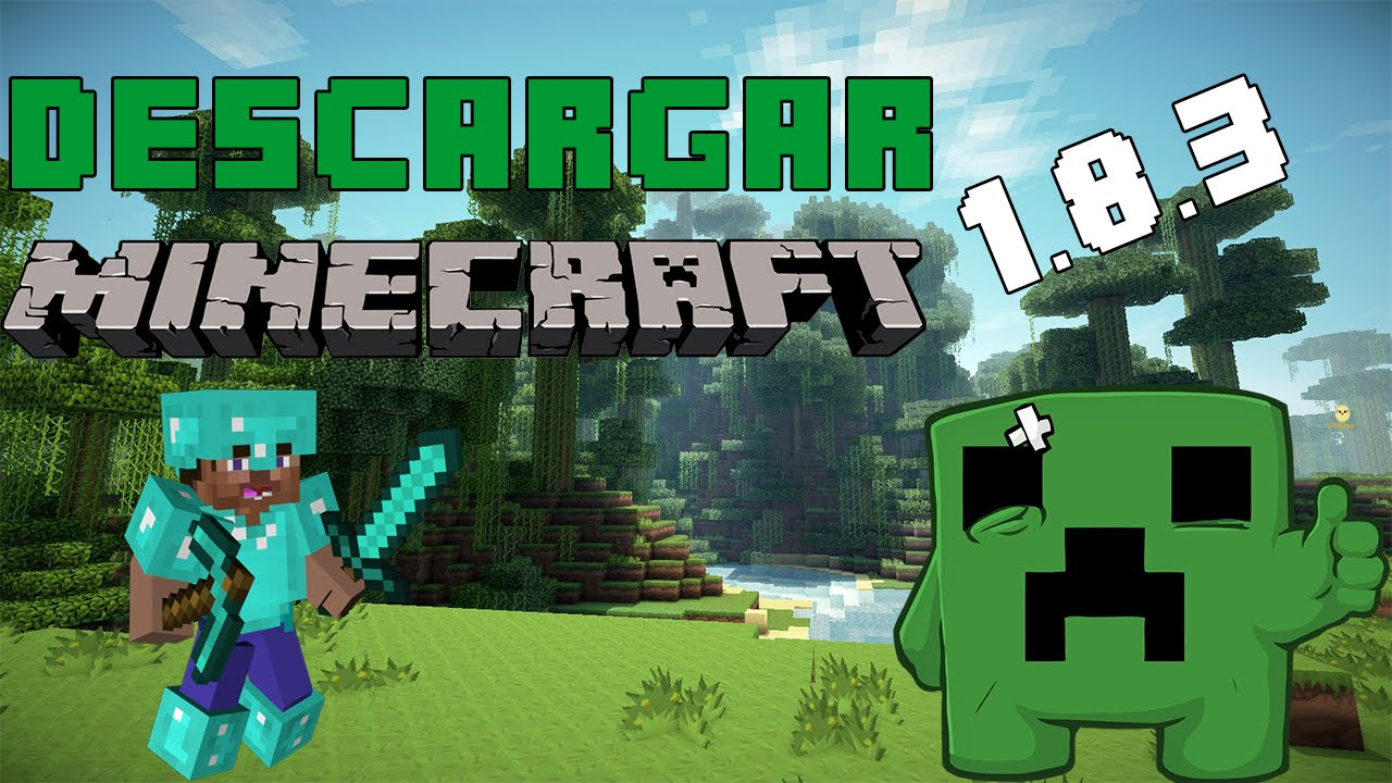 Descargar minecraft 1.8.3 launcher actualizable windows xp,7,8,8.1 32 y 64 bits 2015 | MEGA