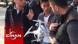 Gezi Parkı'nda drone uçuran Çinli turist polisi alarma geçirdi