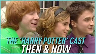 The HARRY POTTER Cast Then & Now by Seventeen Magazine
