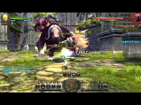 Dragon Nest Bowmaster solo Mino Nest(no death)