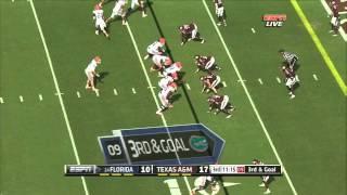 Jonathan Stewart vs Florida (2012)