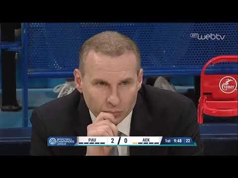 BASKETBALL CHAMPIONS LEAGUE: ΟΡΤΕΖ – ΑΕΚ | ΑΓΩΝΑΣ | 10/12/2019 | ΕΡΤ