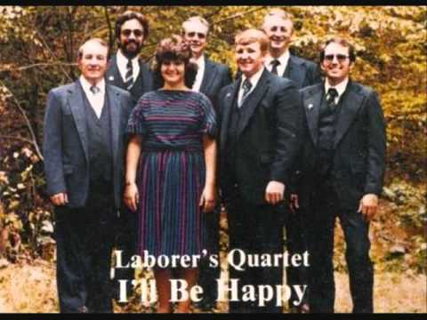 The Laborers Quartet - I've Got My Foot On the Rock.wmv