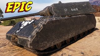 MAUS VS ALL ENEMY TEAM - World of Tanks Gameplay