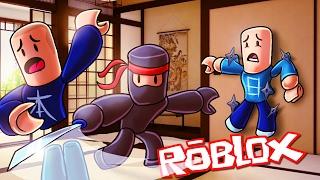 Roblox | HOW TO BE A SNEAKY NINJA! (Roblox Ninja Warrior)