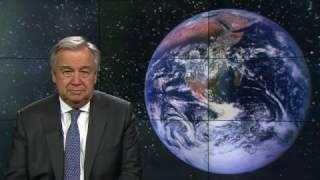 Глава ООН призывает поддержать Час Земли