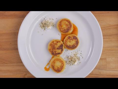 Tradiciniai virtų bulvių blynai su greito paruošimo sorgų koše NOMINAL