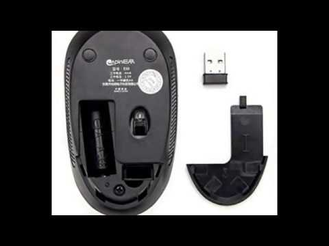 SROCKER E50 2.4GHz Wireless Mouse Whisper Quiet 3 Level DPI Optical Mouse