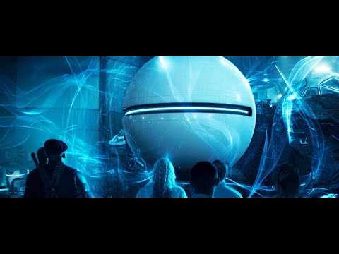 White Friendly Alien Globe Reveals the Truth of Harvesting Aliens (Independence Day: Resurgence)
