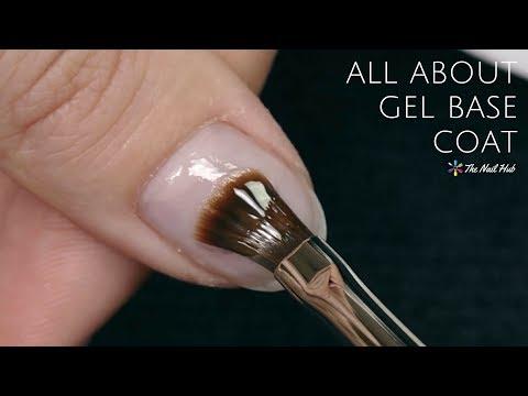 Gel nails - How to Apply Gel Base Coat