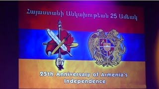 ARF Dro Gomideh celebrates the 25th anniversary of Armenia's independence with a concert