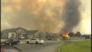 Harker Heights (TX) United States  city photo : Grass Fire in Harker Heights, TX