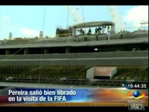 Pereira salió bien librada de la visita de FIFA