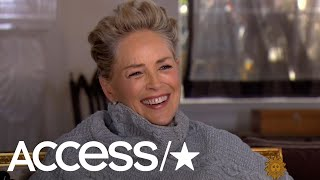 Sharon Stone Laughs For 10 Straight Seconds When Asked If She's Been Sexually Harassed | Access