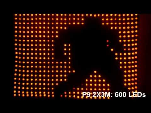 DIY patterns of your LED Motiondrape