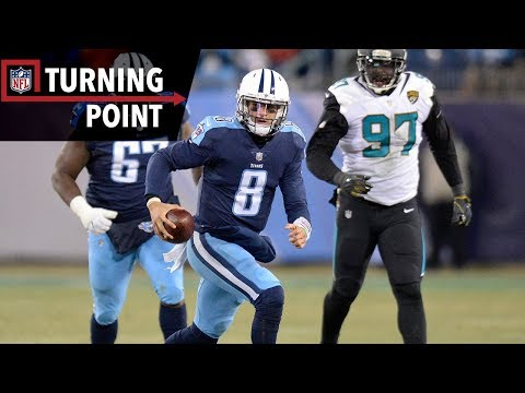 Video: Mariota Scampers the Titans Into the Playoffs (Week 17) | NFL Turning Point