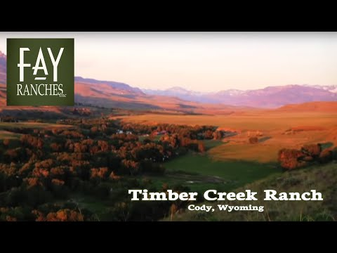 Cody, WY Ranch For Sale - Timber Creek Ranch - Fay Ranches