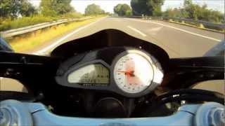 1. Howling MV Agusta F4 1000R 293 km/h on Autobahn