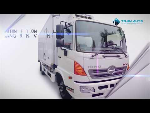Xe tải Hino FC thùng đông lạnh tại Tran Auto