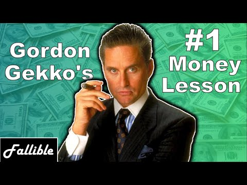 Gordon Gekko's #1 Lesson About Business & Investing | Wall Street Movie Analysis & Lessons