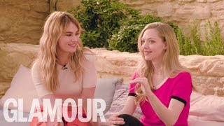 Video Amanda Seyfried and Lily James Put Their Musical Knowledge To The Test  | GLAMOUR UK MP3, 3GP, MP4, WEBM, AVI, FLV Oktober 2018