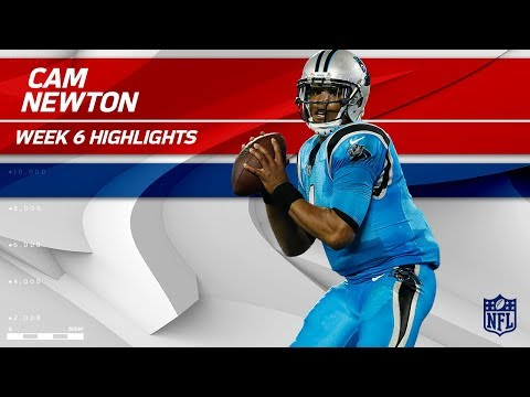Video: Cam Newton's 2 TDs & 310 Total Yards! | Eagles vs. Panthers | Wk 6 Player Highlights