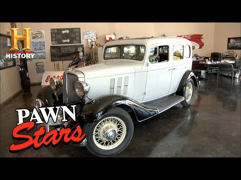 Pawn Stars: RICK TAKES A RISK on 1933 Chevy Eagle (Season 8) | History