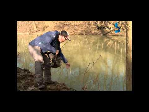 ловля жереха весной в мутной воде
