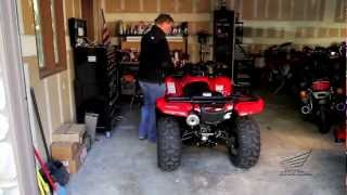 10. How To : Winterize Prep & Store Your Honda ATV For Winter or Storage Over a Period of Time