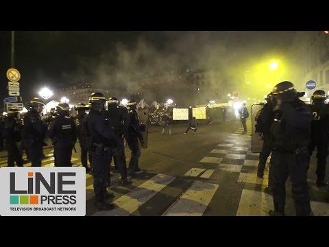 Paris : L'hommage à Rémi Fraisse dégénère (MàJ vidéo)