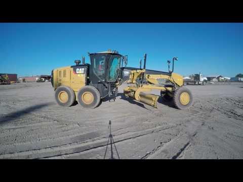 CATERPILLAR MOTOR GRADERS 12M2AWD equipment video NMtc-PyaU-o