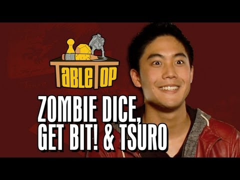 TableTop: Zombie Dice, Tsuro a Get Bit!