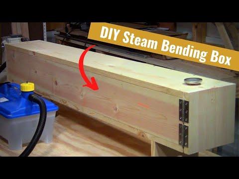Build A Steam Bending Box