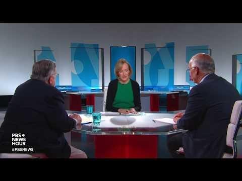 Shields and Brooks on Jerusalem embassy conflict, Mueller investigation takeaways (видео)