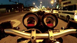 8. Riding my Ducati S2R 800