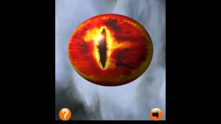 3D Eye of Sauron - LOTR YouTube video