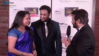 Niraj Jetly talks to Sreekesh and Kavita on the FTV Red Carpet