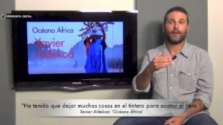 Xavier Aldekoa, autor de 'Océano África'. 17-12-2014