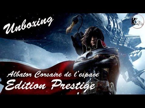 Unboxing Albator Corsaire de l'espace Edition Prestige (Euro Version)