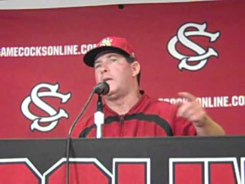 0 USC Coach Ray Tanner Talks About The Weekend Series With Arkansas