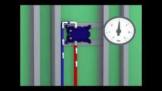 FirUnico® - Trockenbau-Installation für Montage nach hinten (Waschtischbereich)
