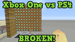 Xbox One vs PS4 Minecraft - Stress Test!