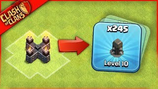Video HE FARMED 245 WALLS? Clash of Clans ...HOW CAN THIS BE! MP3, 3GP, MP4, WEBM, AVI, FLV November 2017