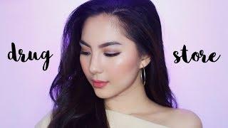 Video Full Coverage 'Drugstore' Makeup Tutorial MP3, 3GP, MP4, WEBM, AVI, FLV Februari 2018