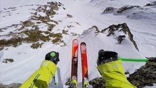 Rider: Sam Smoothy Location: Freeride World Tour Andorra Entry: #485 GoPro, Transworld Snowboarding, and...
