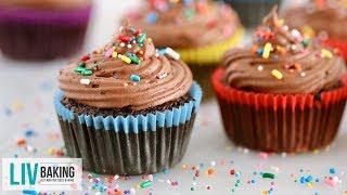 Simple Gluten-Free Chocolate Cupcakes | Liv Baking by Gemma's Bigger Bolder Baking